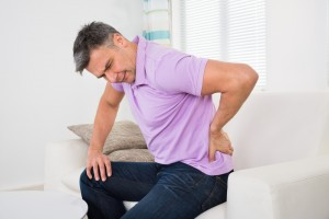 Mature Man Having Backache
